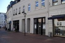 BUER - MITTE - FUSSGÄNGERZONE: Hochklassiges Ladenlokal mit Dachterrasse - vollständig saniert