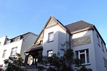 Charmanter Altbau: 2,5 - Raum - Dachgeschosswohnung mit Balkon und Stellplatz im Herzen von Buer