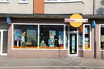 Gepflegtes und günstiges Ladenlokal am Marktplatz von GE-Buer mit großer Schaufensterfront