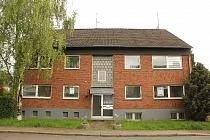 Ruhig gelegene  3,5 - Zimmer-Wohnung mit Balkon, Gartennutzung und Garage in Scholven