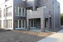 Architektur der Extraklasse in Buer - Mitte: Barrierefreier Neubau-Wohntraum mit Garten
