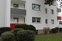 Eindrucksvolles Badezimmer: Gut aufgeteilte 3,5 Raum-Wohnung mit Balkon in ruhiger Lage