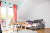 Bezugsfertiges, gepflegtes  Ein - Raum - Appartement mit Balkon in zentraler Lage von Recklinghausen