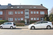 Hervorragend geschnitte 3,5 Dachgeschosswohnung mit Einbauküche in guter und ruhiger Lage von Erle