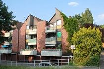Ideal geschnittene 3,5-Raum-Etagenwohnung mit Balkon und Garage in ruhiger Lage von Ückendorf
