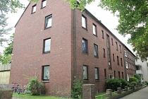 Effizient geschnittene 3,5-Raum-Erdgeschosswohnung mit neuem Bad und Terrasse in Gelsenkirchen-Resse