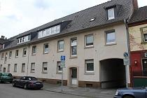 Buer - Mitte: Gepflegte 2,5 Zimmer-Etagenwohnung mit schönem Tageslichbad und Gemeinschaftsgarten