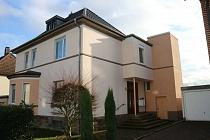 Repräsentatives Dreifamilienhaus mit Garten, Terrasse, Balkon, Aufzug und Garage in Scherlebeck
